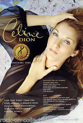 Celine Dion Collectors Series Original Promo Poster • 11.17£