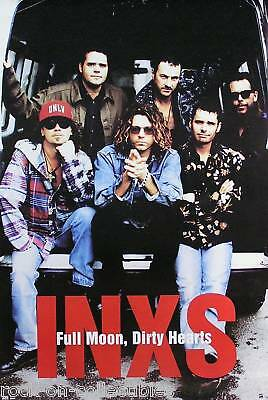 INXS 1993 Full Moon, Dirty Hearts Original Promo Poster  • 17.87£