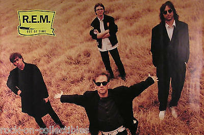 R.E.M. 1991 Out Of Time Original Promo Poster • 14.30£