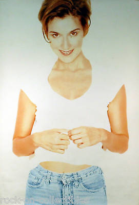 Celine Dion 1996 Falling Into You Blue Jean Original Store Poster • 11.17£