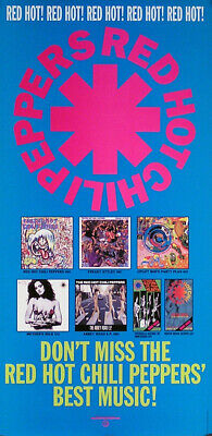 Red Hot Chili Peppers 1992 Original Catalog Promo Poster • 15.62£