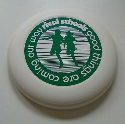 RIVAL SCHOOLS Good Things Are Coming Our Way 2002 UK Promo Only Frisbee NEW • 25£