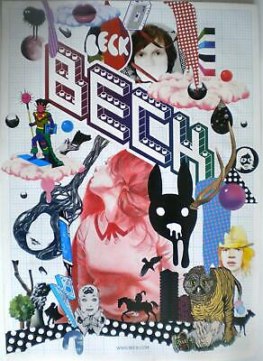 BECK The Information Official UK Record Company POSTER • 9.99£