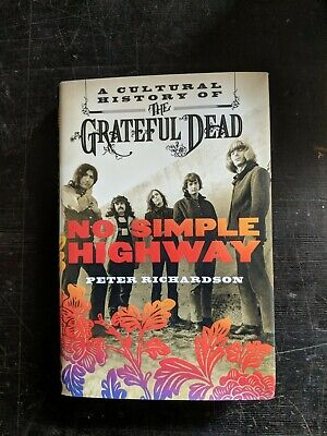 Unread GRATEFUL DEAD PSYCH HARDCOVER BOOK • 30£