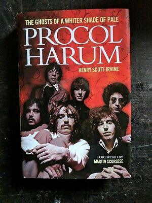 Unread PROCUL HARUM HARDCOVER BOOK  • 30£