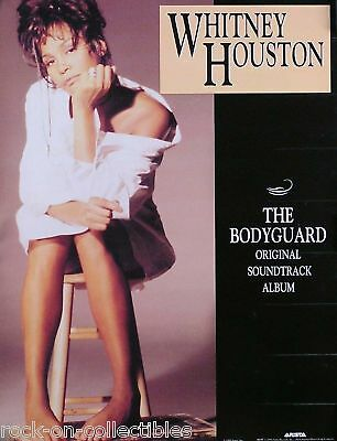Whitney Houston 1993 Bodyguard Soundtrack Original Promo Poster  • 11.58£