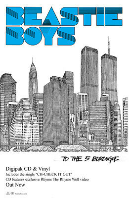 Beastie Boys - To The 5 Boroughs Poster • 21£