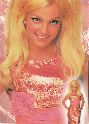 Britney Spears Swatch Card From 2002 National Convention In Chicago  • 39.69£