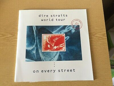 1992 DIRE STRAITS On Every Street UK Tour Programme Program With Insert  • 12.75£