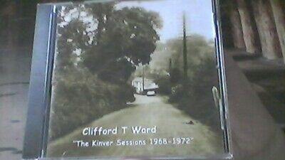 Clifford T Ward - The Kinver Sessions 1968- 1972 Privately Produced Very Rare CD • 13.99£