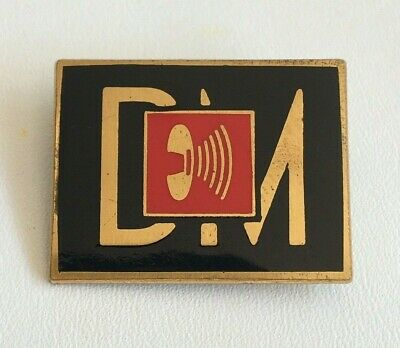DEPECHE MODE - Music For The Masses Tour Badge - Excellent Condition! • 60£