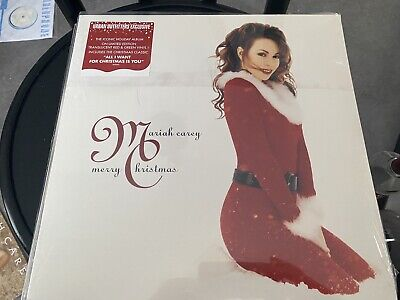 Mariah Carey Merry Christmas Urban Outfitters Red Green Vinyl Sealed Translucent • 55£