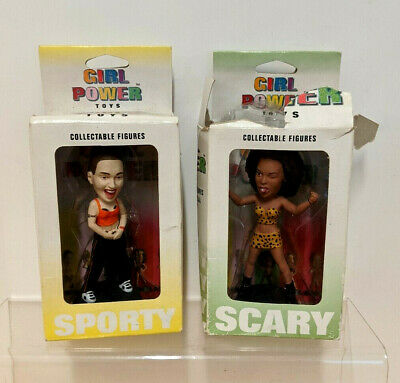 Spice Girls Doll 1997 Set Of 2 Girl Power Toys / Figures -  Scary / Sporty  • 8.99£
