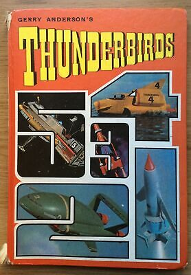 Gerry Anderson Thunderbirds 1968 Not Price Clipped UK Book • 4.99£