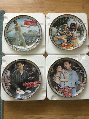33 Cliff Richard Collectable Plates, 11 Collectable Mugs & 1 Collectable Teapot. • 220£