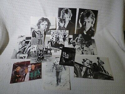 14 X Walkerprint Fan Promotional Group Press Photos Of The Police Band / Sting • 24.99£