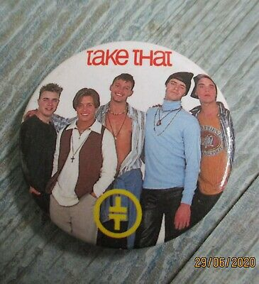 Vintage Take That Badge • 1.49£