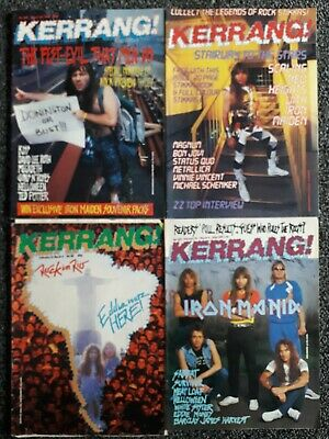 IRON MAIDEN - COLLECTION OF RARE 1980's MAGAZINES  • 2.50£