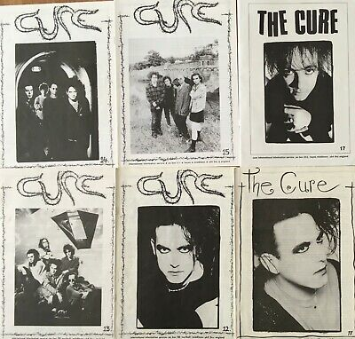 The Cure Official Fanzines Cure News Lot Rare • 40.42£