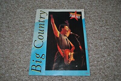 Big Country - Melody Maker Star File Magazine  • 2.99£
