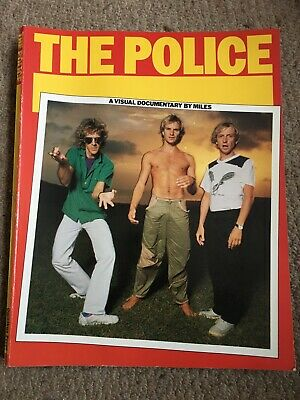 The Police A Visual Documentary By Miles/ Miles Copeland • 3£