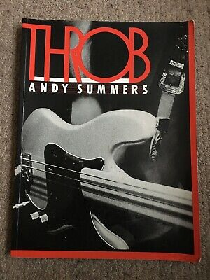 'Throb' Photographs Of The Police By Guitarist Andy Summers /  1983 • 3£
