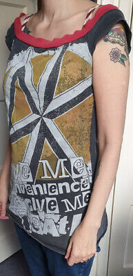 Dead Kennedys Give Me Convenience Long Top/T Shirt Small Women's • 15£