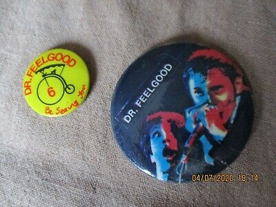 2 Vintage Dr Feelgood  Badges • 1.49£