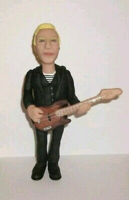 Sting The Police Gordon Sumner Rare Resin Figure Perfect Condition Stunning!  • 149.99£