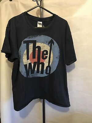 The Who Tour Tee Shirt 2013 Quadraphenia Size L Adult W222 • 5£