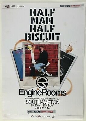 Half Man Half Biscuit Official A3 Tour Poster 2016 • 0.99£