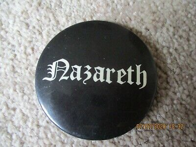 Large Vintage Nazareth  Badge • 1.49£