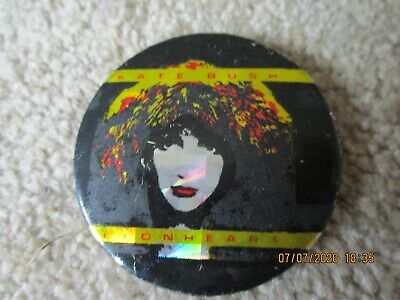 Large Vintage Kate Bush Lionhead  Badge • 1.49£