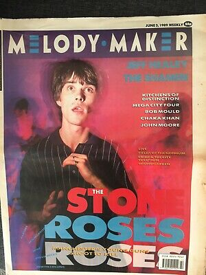Rare 1989 Melody Maker Stone Roses Front Cover And Centre Spread Interview. • 4.99£