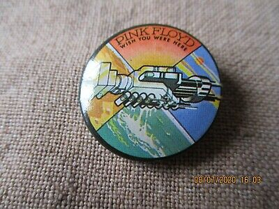 Vintage Pink Floyd Wish You Were Here  Badge • 1.49£