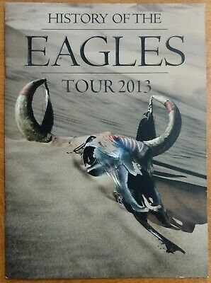 THE EAGLES 2013 History Of The Eagles TOUR PROGRAM • 19.81£