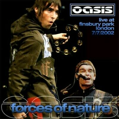 Oasis - Finsbury Park 07/07/2002 - Forces Of Nature - Liam Gallagher - Noel G • 9.99£