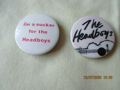 Vintage The Headboys  Badge • 1.49£