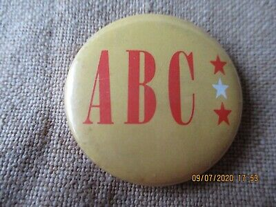 Vintage ABC  Badge • 1.49£