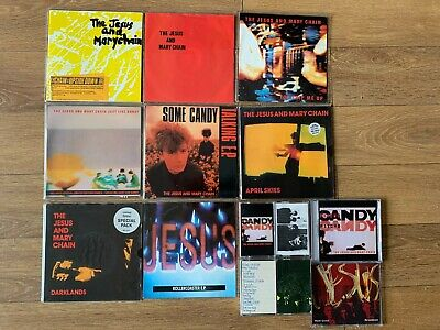 Jesus & Mary Chain - 8x 7  Singles, 2x CD's, 4x Tapes - MINT  Bundle • 120£