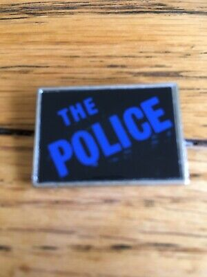 The Police Rock Group Pin Badge • 4£