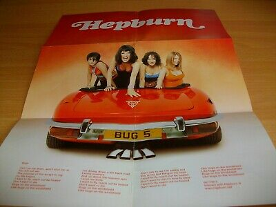Hepburn - Bugs - Fold Out Poster - 1999 - Poster • 2£