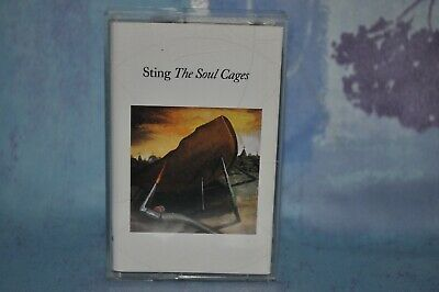 Sting - The Soul Cages - Music Cassette Tape Album 1991 A & M Records • 1.50£