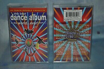 The Best Dance Album In The World Ever, Part 4 Compilation Tape Cassette X 2 • 3£