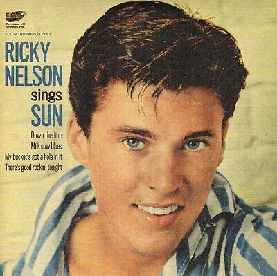 RICKY NELSON - SINGS SUN (New EP 2020 Down The Line,Milk Cow Blues + 2 LILAC WAX • 9.99£