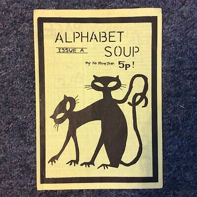 Alphabet Soup - Issue A - 1980s Fanzine By Miki And Emma From Lush • 20.21£