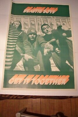 Rare Large 24x34 Beastie Boys Get It Together Poster Made In England  • 37£