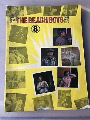 1966 Hit Sounds Of The BEACH BOYS Song Folio 3 - BRIAN WILSON - PET SOUNDS • 11.85£