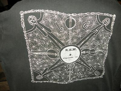 R.E.M. Vintage Muscle Shirt Howard Finster Folk Art Pilgrimage VERY EARLY • 214.54£