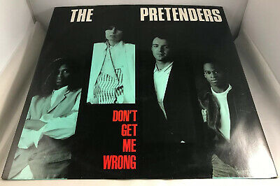 The Pretenders, Don't Get Me Wrong 12 Inch Vinyl Single • 2.50£
